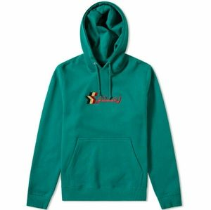 Stussy 3Star Embroidered Hoodie Green💯🔥